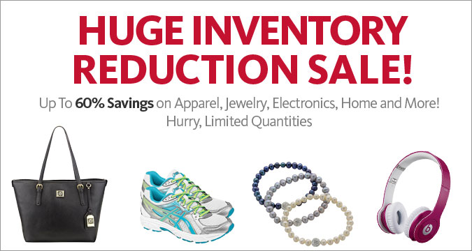 Huge Inventory Reduction Sale!