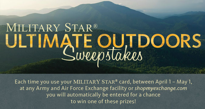 Military Star Ultimate Outdoor Sweepstakes