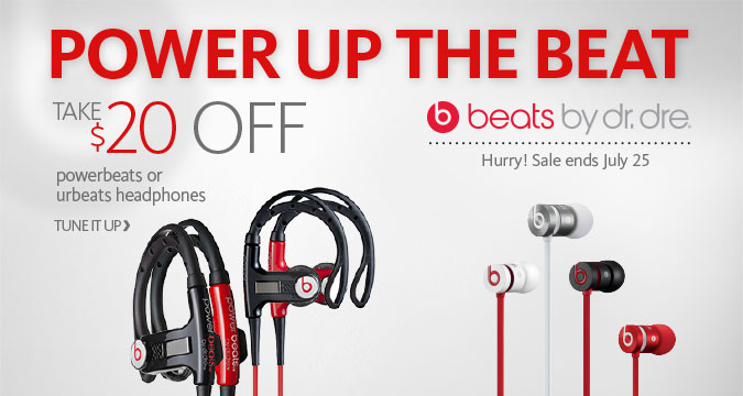 $20 Off Beats by Dr. Dre