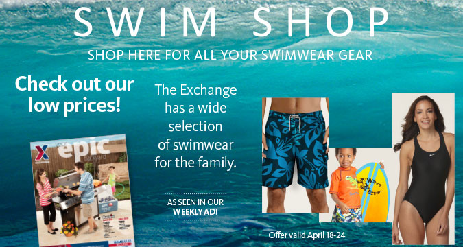 Visit the Swim Shop!