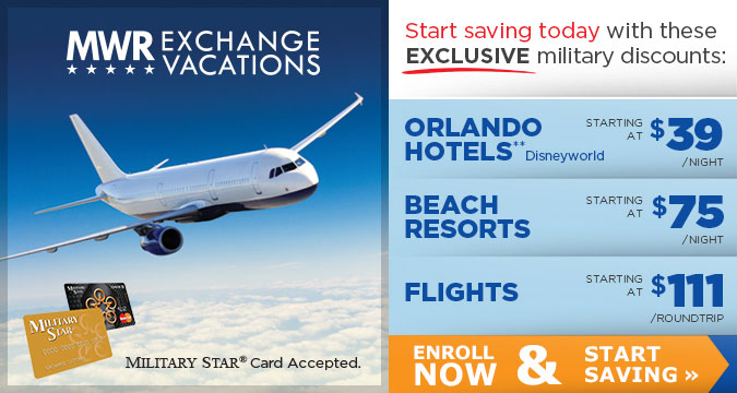 MWR Exchange Vacations